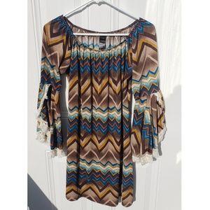 Honey Me Aztec Dress (Small)